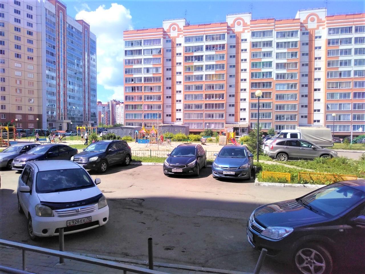 1-комнатная квартира, Томск, Герасименко, 3 к.14