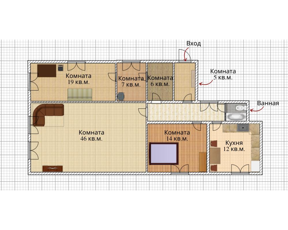 Продаем дом с земельным участком для