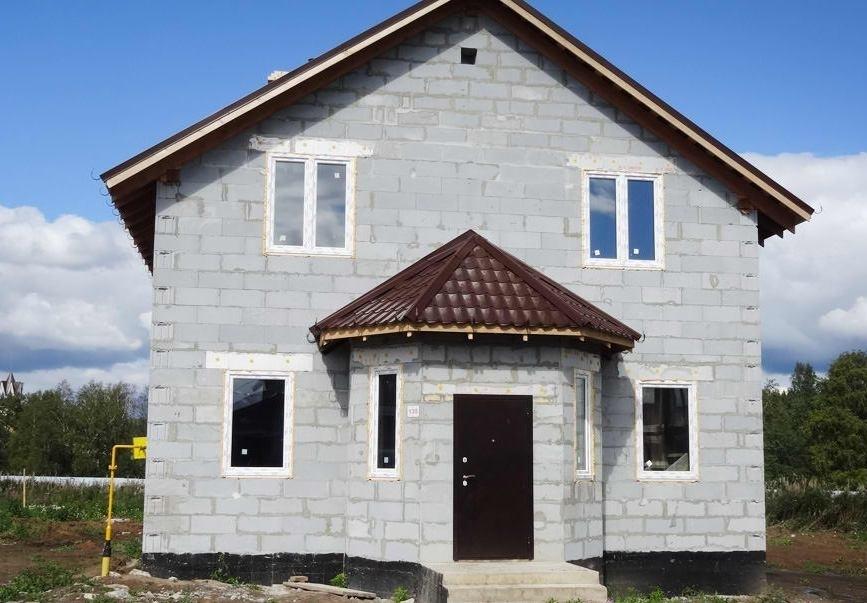 Дом из твинблоков