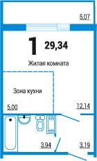Челябинская область, Челябинск, ул. 2-я Эльтонская, 69 к.