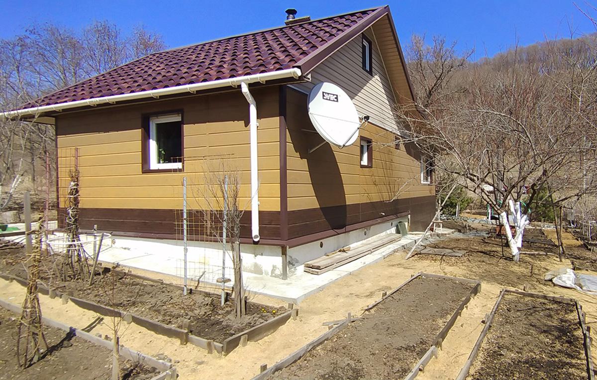 Дом в Голубовке