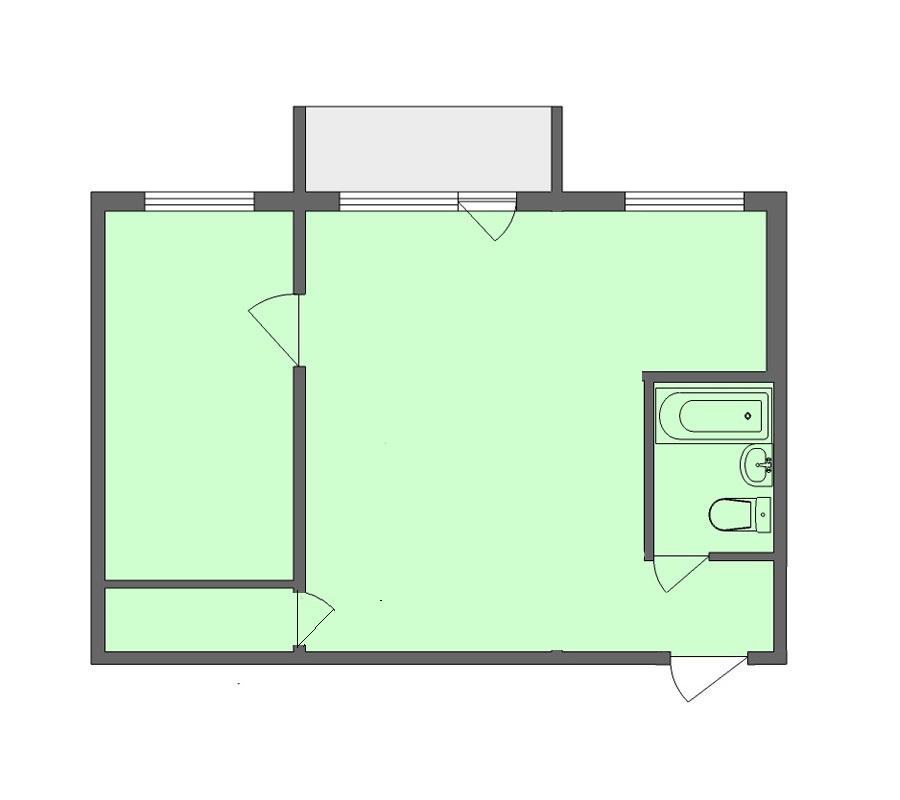Продажа 2-комнатной квартиры, Челябинск