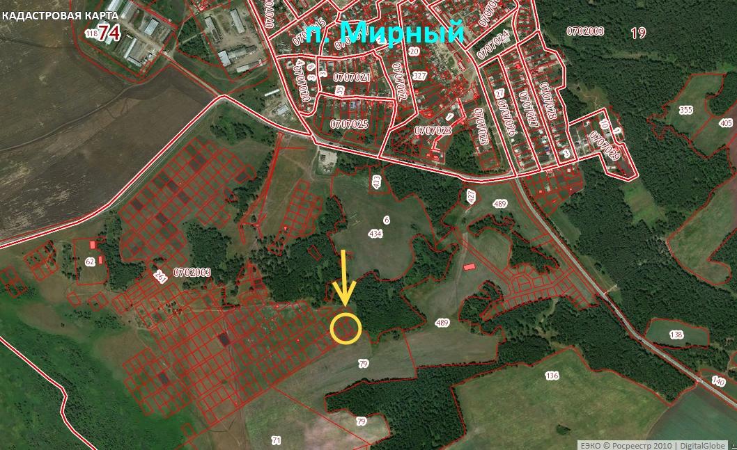 Участок на продажу по адресу Россия, Челябинская область, Мирный