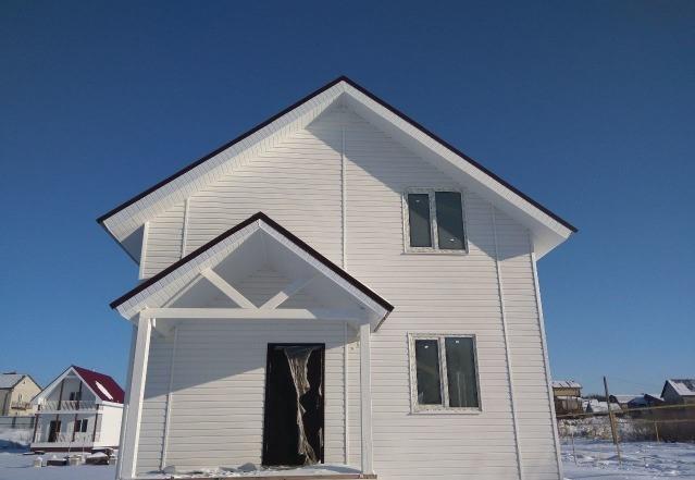 продаем новые дома. стоимость дома с чистовой отделкой от 2549т.р. без забора и отмос...