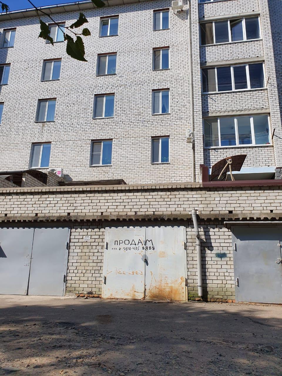 Фото: Продам кооперативный кирпичный гараж в районе Слободы по ул Красина, 90а