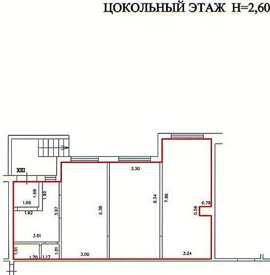Продажа коммерческой недвижимости, 79м <sup>2</sup>, Калининград