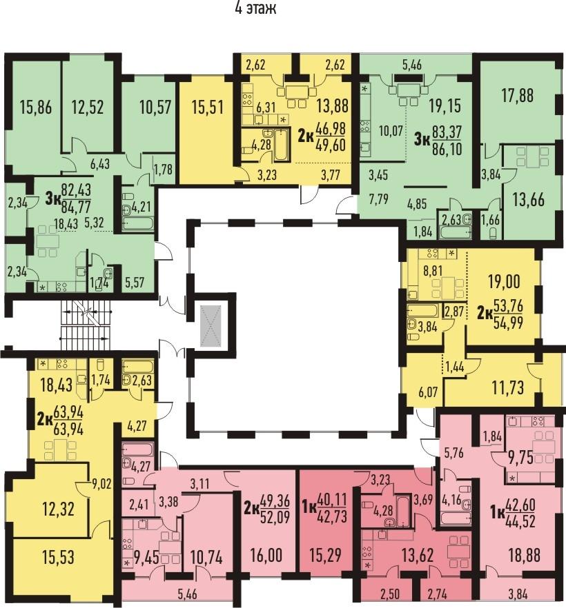 Квартира на продажу по адресу Россия, Томская область, Кисловка, Марины Цветаевой ул., д. 20