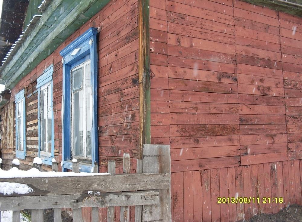 Дом 40 м2 брус на участке 8 сот., в черте