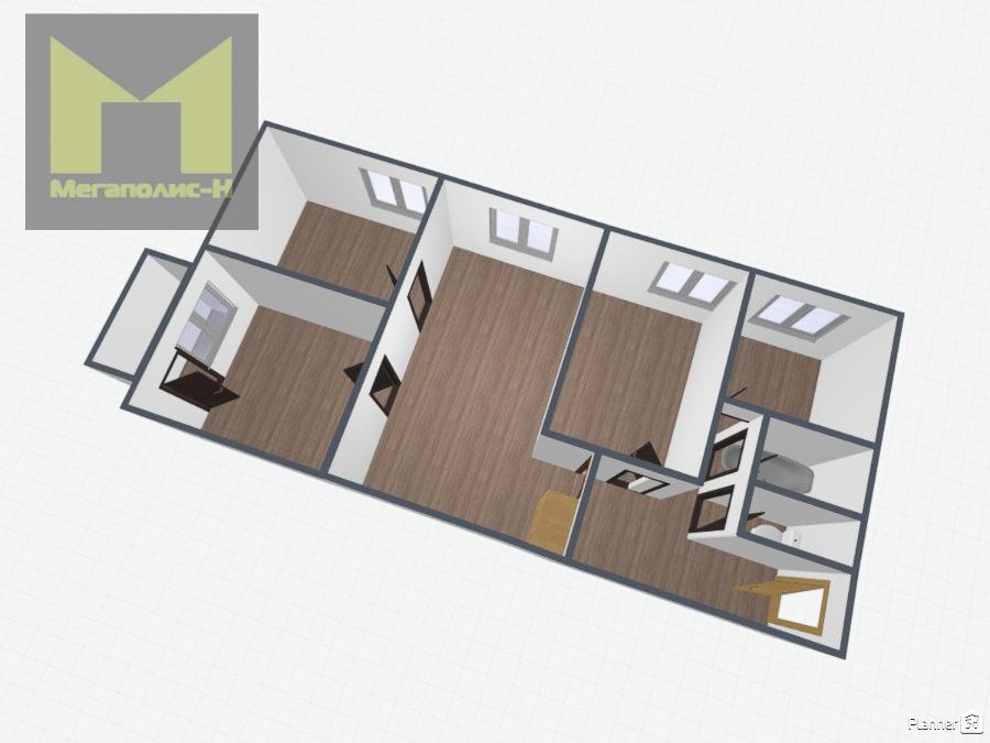 Фото: Продается 4-х комнатная квартира для дружной семьи в самом ЦЕНТРЕ города! Квартира расположена на 3 этаже кирпичного 5-ти этажного дома