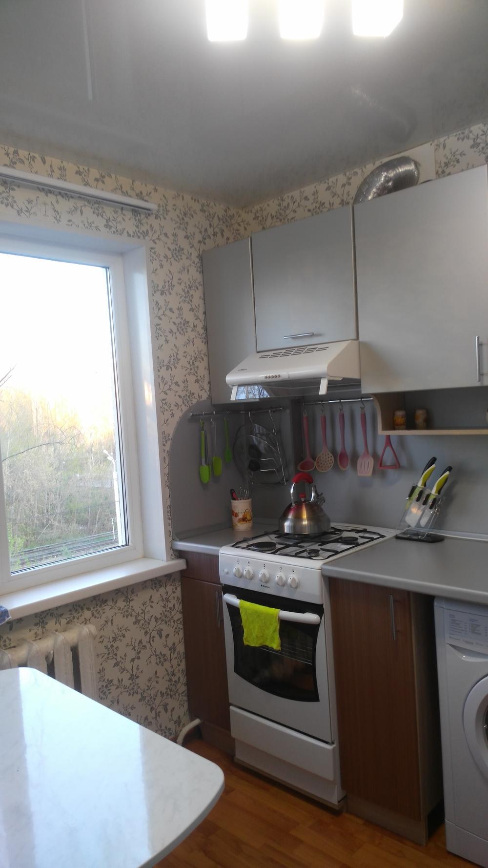 продаётся 2-х комнатная, просторная, очень уютная квартира,в тихом районе,но с разв...
