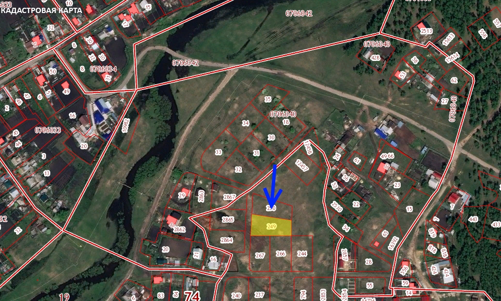 Участок на продажу по адресу Россия, Челябинская область, Есаульский