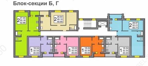 Продам 1-комнатную квартиру в городе Саратов, на улице Энтузиастов, 61, 4-этаж 10-этажного Кирпич дома, площадь: 35/18/9 м2
