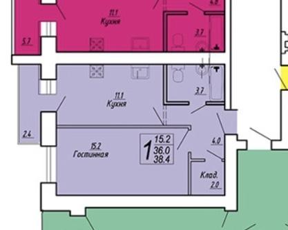 Продам 1-комнатную квартиру в городе Саратов, на улице Блинова, 50, 13-этаж 14-этажного  дома, площадь: 38/15/11 м2