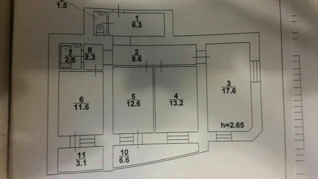 Продам 3-комнатную квартиру в городе Саратов, на улице Техническая, 7, 6-этаж 12-этажного Кирпич дома, площадь: 86/55/15 м2