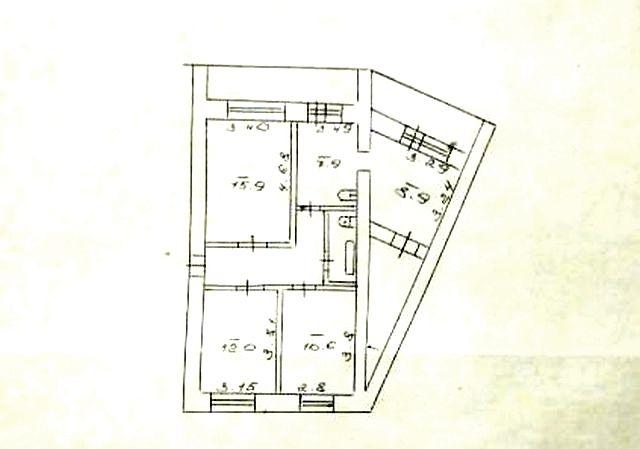 3-комнатная квартира на Пентагоне