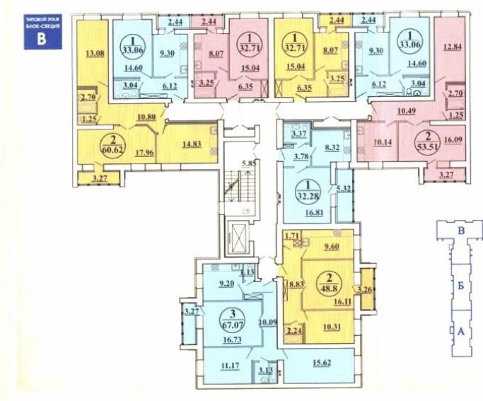 Продам 2-комнатную квартиру в городе Саратов, на улице Усть-Курдюмское, 51, 2-этаж 10-этажного Кирпич дома, площадь: 53/30/10 м2
