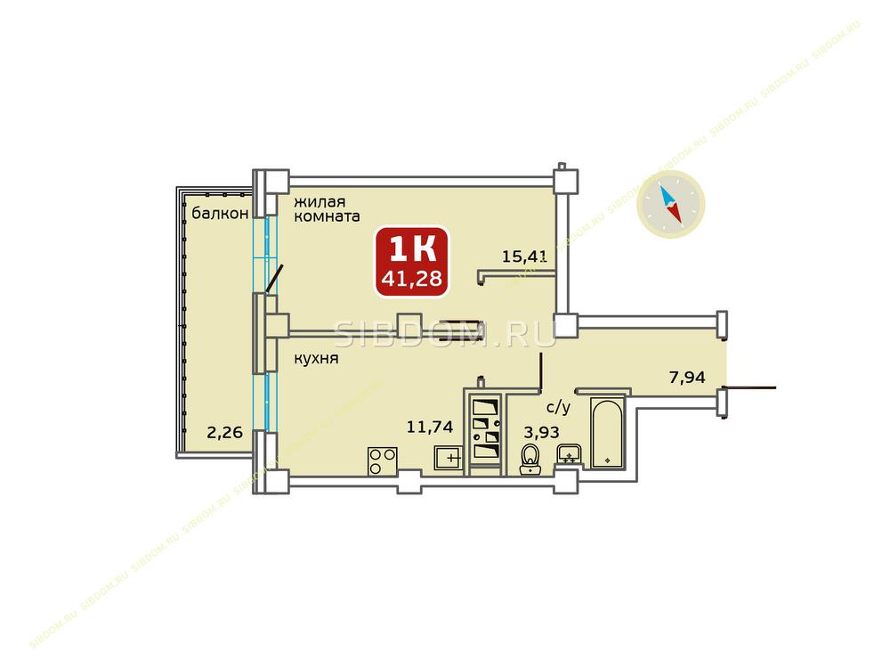 Красноярский край, Красноярск, ул. Соколовская, 74 2