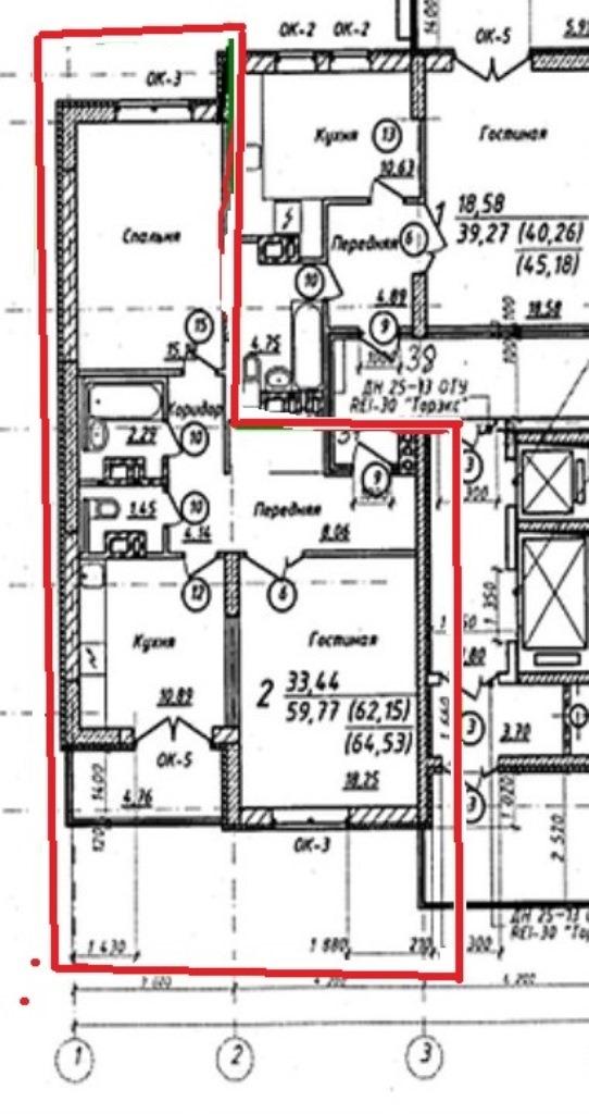 Продам 2-комнатную квартиру в городе Саратов, на улице Лунная, 25, 5-этаж 15-этажного Кирпич дома, площадь: 64/33/11 м2