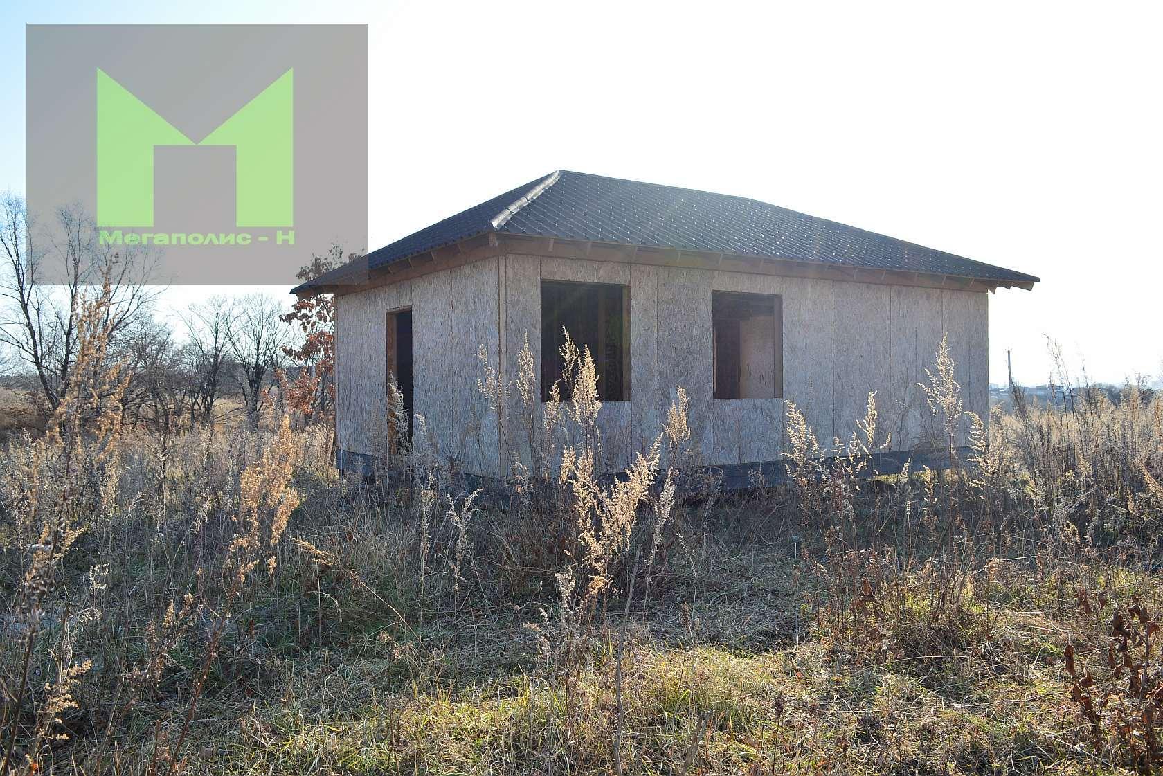Фото: Дом не достроен