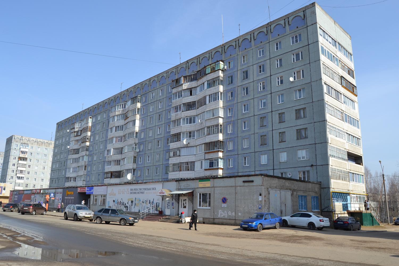 Республика Коми, городской округ Коми, Сыктывкар, пр-кт Бумажников, 55