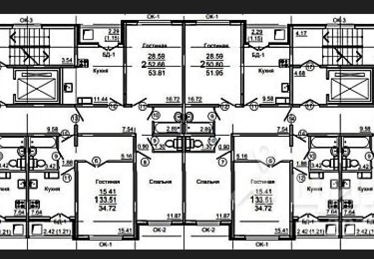 Продам 2-комнатную квартиру в городе Саратов, на улице Романтиков, 46, 6-этаж 10-этажного  дома, площадь: 50/29/10 м2
